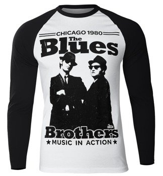longsleeve BLUES BROTHERS - CHICAGO 1980, USZKODZONE
