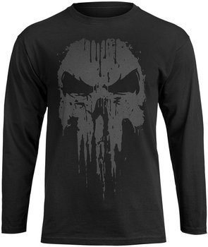 longsleeve THE PUNISHER - LOGO czarna