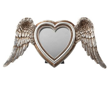 lusterko WINGED HEART