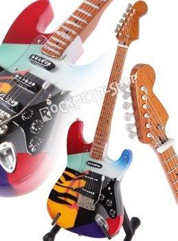 """miniaturka gitary ERIC CLAPTON -  """"OVER THE RAINBOW"""" STRAT"""