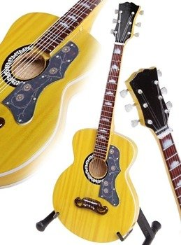 miniaturka gitary LUCIANO LIGABUE - ACOUSTIC GIBSON 1950