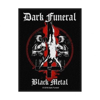 naszywka DARK FUNERAL - BLACK METAL