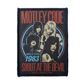naszywka MOTLEY CRUE - SHOUT AT THE DEVIL