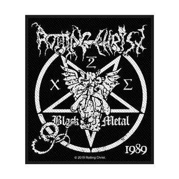 naszywka ROTTING CHRIST - BLACK METAL