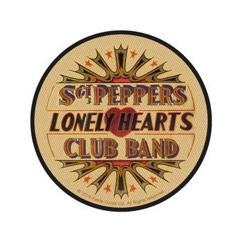 naszywka THE BEATLES - SGT. PEPPERS LONELY HEARTS CLUB BAND