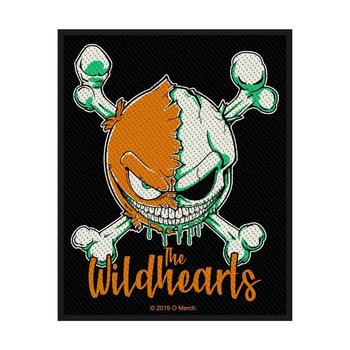 naszywka THE WILDHEARTS - GREEN SKULL
