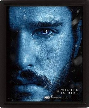 obraz w ramie 3D GAME OF THRONES - JON SNOW vs. NIGHT KING