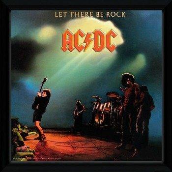 obraz w ramie AC/DC - LET THERE BE ROCK
