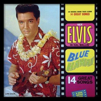 obraz w ramie ELVIS PRESLEY - BLUE HAWAII