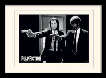obraz w ramie PULP FICTION - GUNS