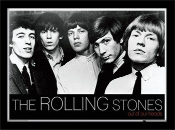 obraz w ramie ROLLING STONES - OUT OF OUR HEADS