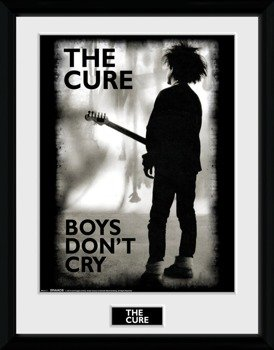 obraz w ramie THE CURE - BOYS DON'T CRY