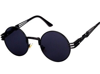 okulary LENONKI STEAMPUNK RETRO BLACK