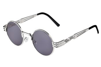 okulary LENONKI STEAMPUNK RETRO SILVER