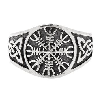 pierścień EAGERSHELM, srebro 925