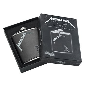 piersiówka METALLICA -BLACK ALBUM, 210 ml