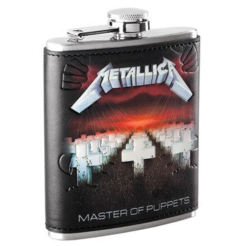 piersiówka METALLICA - MASTER OF PUPPETS, 210 ml