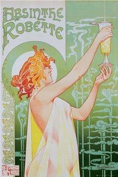 plakat ABSINTHE ROBETTE - ART DECO