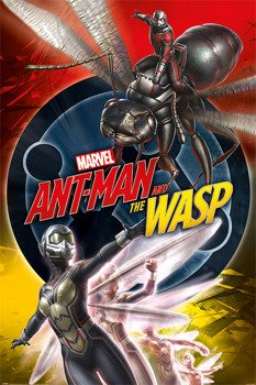 plakat ANT-MAN AND THE WASP - UNITE