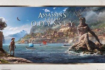plakat ASSASSINS CREED ODYSSEY - VISTA