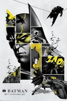 plakat BATMAN - 80TH ANNIVERSARY