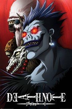 plakat DEATH NOTE - SHINIGAMI