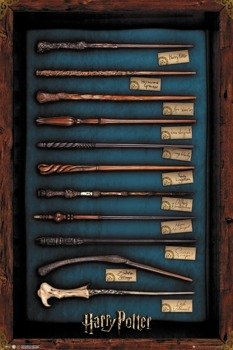 plakat HARRY POTTER - WANDS