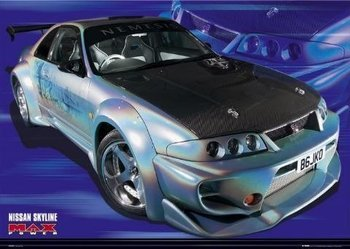 plakat MAX POWER - SKYLINE