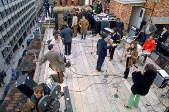 plakat THE BEATLES - ROOFTOP
