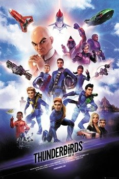 plakat THUNDERBIRDS ARE GO - KEY ART