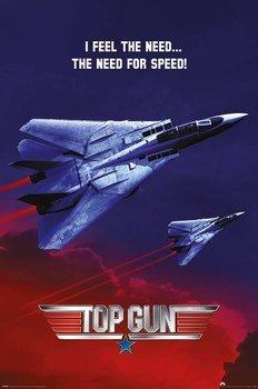 plakat TOP GUN - THE NEED FOR SPEED