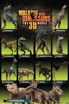 plakat WALKING WITH DINOSAURS