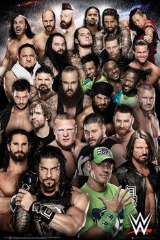 plakat WWE - SUPERSTARS  2018