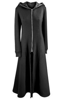 płaszcz damski AMENOMEN - GOTHIC, z kapturem