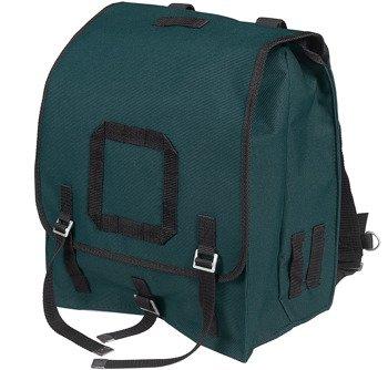 plecak KOSTKA KRATKA zielononiebieski