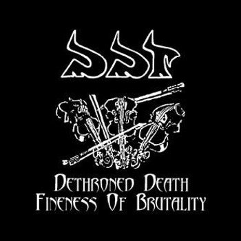 płyta CD: DDT - DETHRONED DEATH / FINENESS OF BRUTALITY