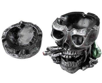 popielniczka CZASZKA silver