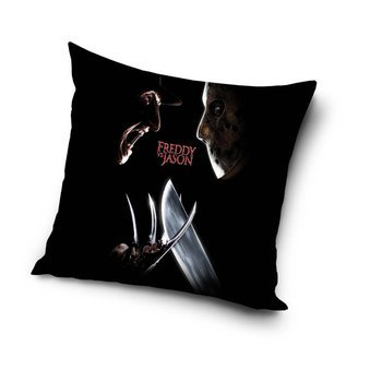 poszewka na poduszkę A NIGHTMARE ON ELM STREET - FREDDY VS JASON (40*40 cm)