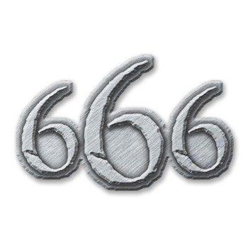 przypinka 666