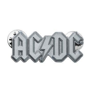 przypinka AC/DC - METAL LOGO