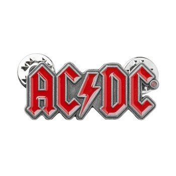przypinka AC/DC - RED LOGO