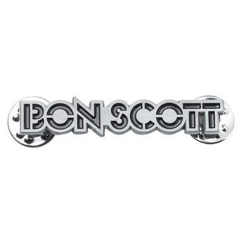 przypinka BON SCOTT - LOGO