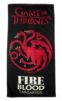 ręcznik kąpielowy GAME OF THRONES - FIRE AND BLOOD