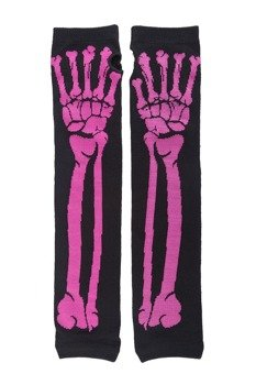 rękawiczki POIZEN INDUSTRIES - BONE BLAK PINK