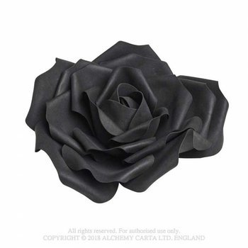 róża czarna LARGE BLACK ROSE