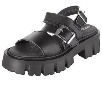 sandały damskie ALTERCORE czarne (SUSIE VEGAN BLACK)