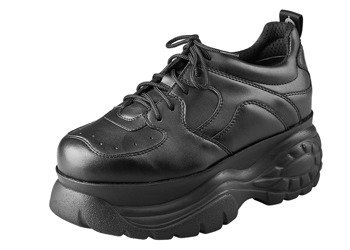 sneakersy ALTERCORE czarne (SARA VEGETARIAN BLACK)