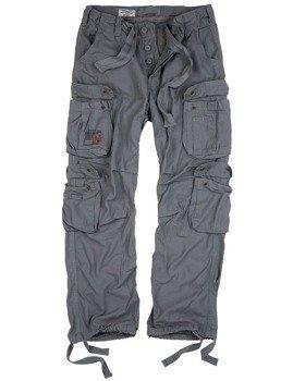 spodnie bojówki AIRBORNE VINTAGE TROUSERS GREY