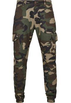 spodnie bojówki CAMO CARGO JOGGING PANTS 2.0 woodcamo