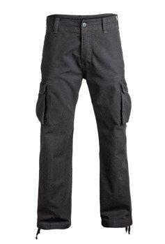 spodnie bojówki HEAVY WEIGHT anthracite